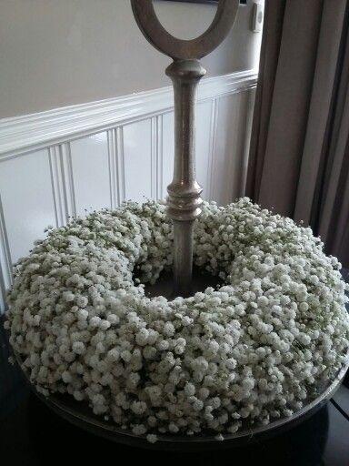 Maison la Fleur, krans van gipskruid
