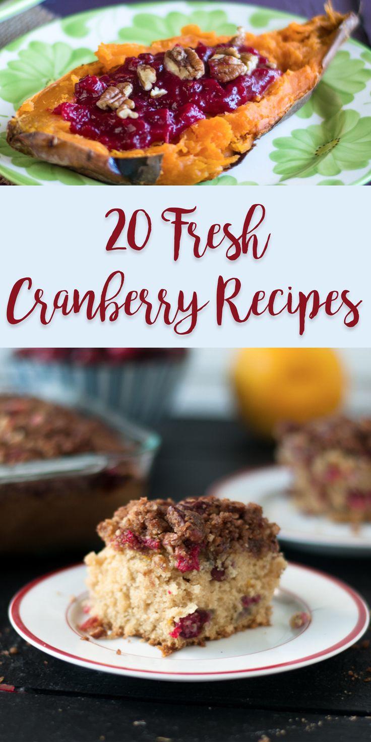 20 Fresh Cranberry Recipes