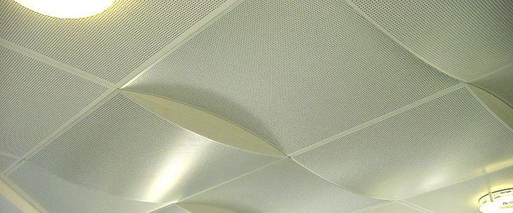MCI-Metalldecken - Kassettendecken Quadrat aus Metall