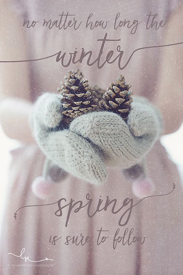 no matter how long the winter, spring is sure to follow no matter how long the winter, spring is sure to follow