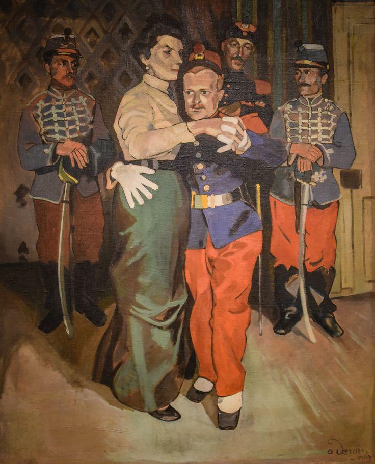 Andre Derain - At the Suresnes Ball, 1903 at Saint Louis Art Museum - St Louis MO