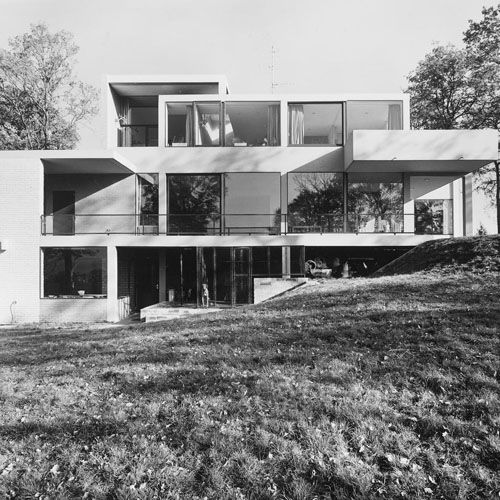 van Slobbe House, Heerlen, the Netherlands by Gerrit Rietveld (1964)