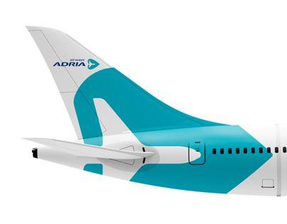 Adria Airways rebranding concept