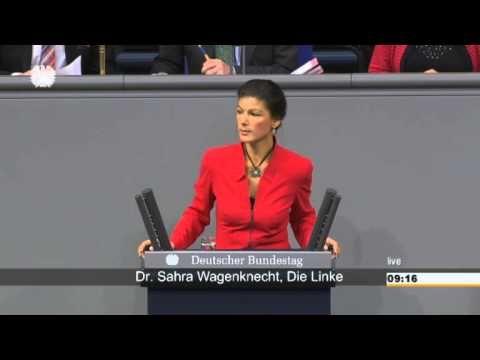 Sahra Wagenknecht, DIE LINKE: Merkels Schuldenbremse heißt Sozialabbau, unsere Millionärssteuer