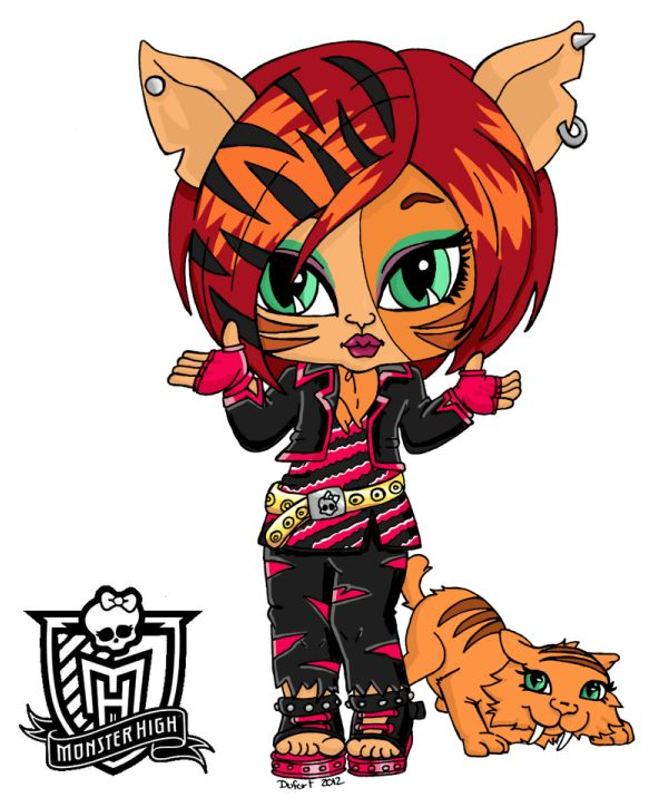 83 best Toralei monster high images on Pinterest  Monsters