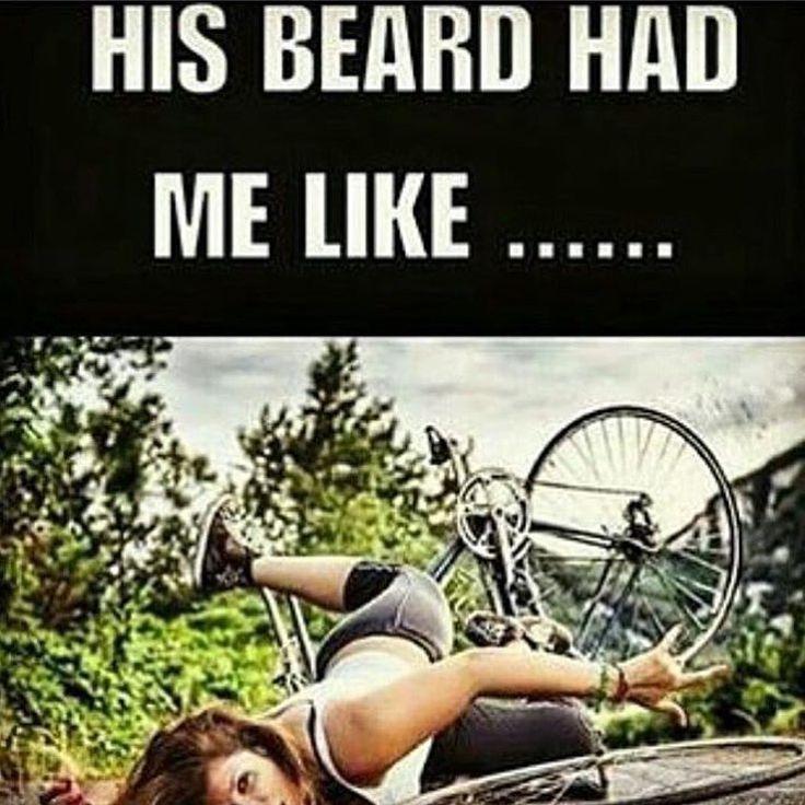 His Beard Has Me Like ...   Beard Meme   Beard Humor  