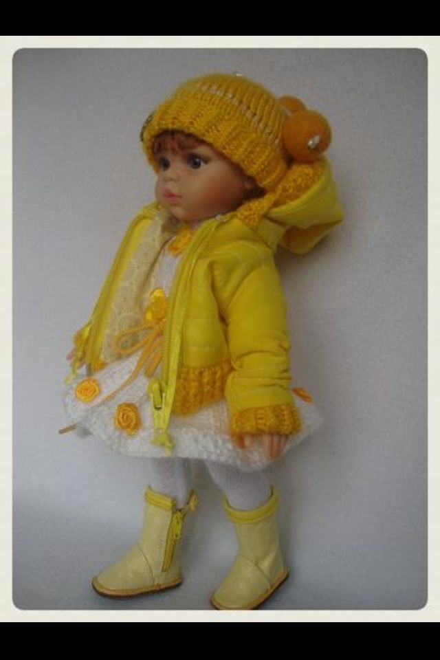 Have found this doll on social network and don't remember the author :( but hand made clothes are wonderful!