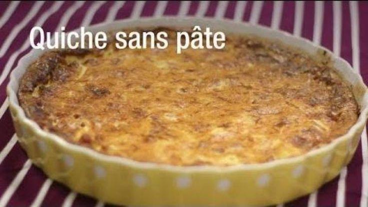 Quiche sans pâte chou-fleur et chorizo au Comté (facile, rapide) - Une recette CuisineAZ