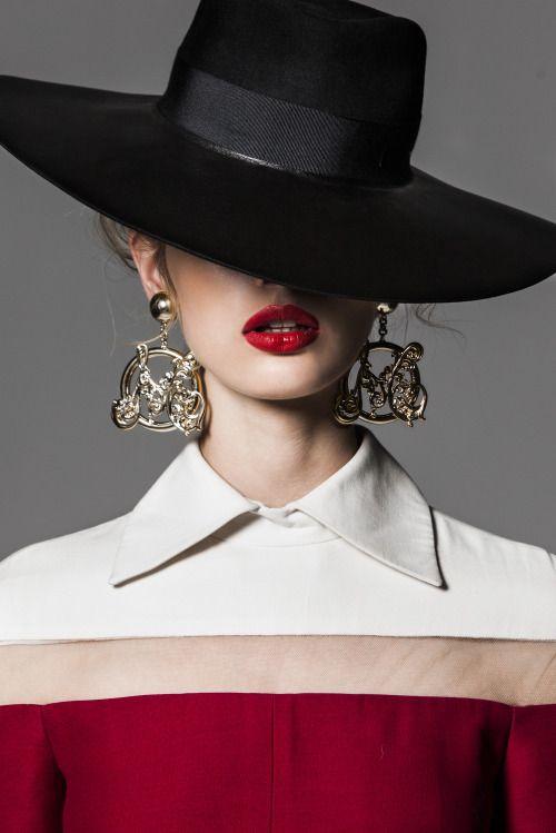 "modelmexoxo: "" Glossy Magazine January 2014 Model: Niki Hajdu """