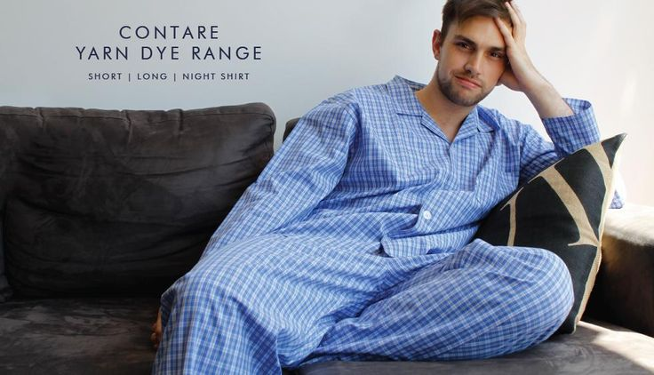 100% Cotton men's sleepwear. Shop the new Yarn Dye Range now.