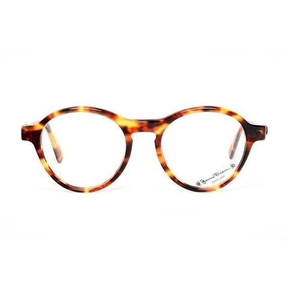 Leo Eyewear, Oro Purple & Gold Frame Clear Lenses