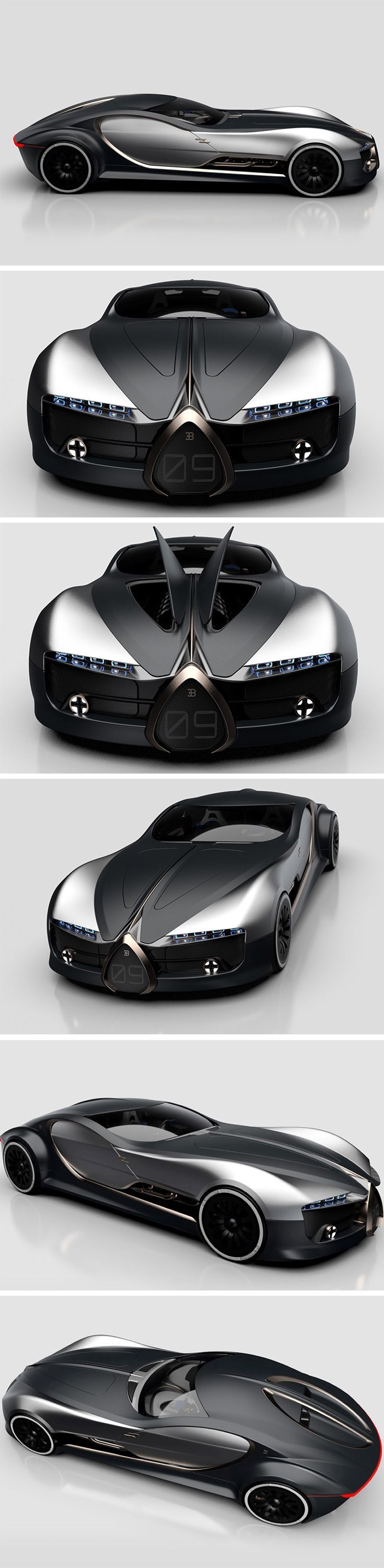 The Bugatti Type 57T has officially won our hearts! This concept car designed by Arthur B. Nustas revives the classic vintage Type 57T coupe by the German automotive giant, combining Jean Bugatti's or