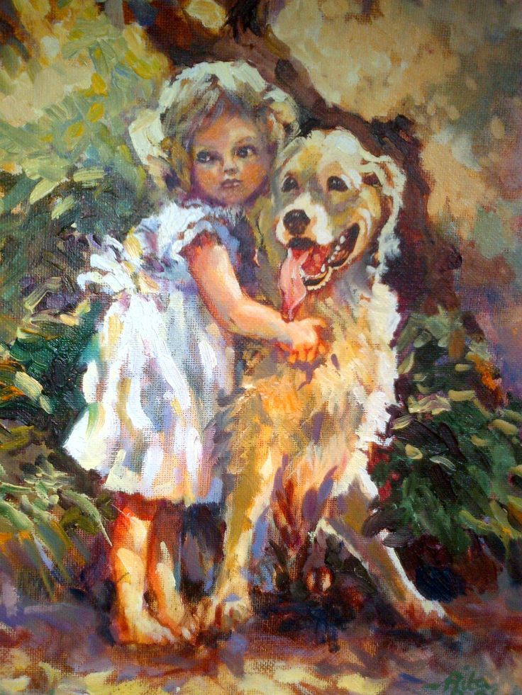 Painting by Rita Weber