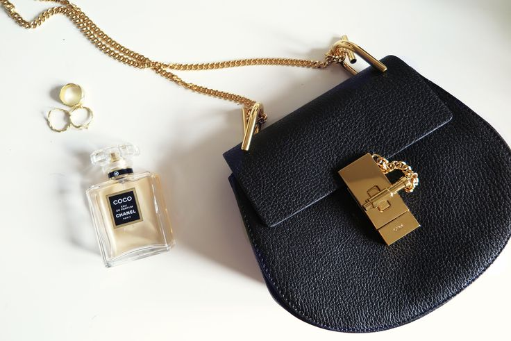 black chloe drew bag inspiration post