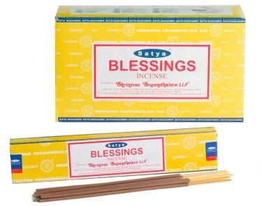 Nag Champa Satya Incense Sticks - Nag Champa is one of the world's best selling incense sticks.  Brought to you from the Hindu and Buddhist monasteries of India and Nepal this selection of incense is world known and one of the best.    Made from a sandalwood base with a variety of flower oils added to give each scent a unique fragrance that will fill your home and bring a greater feeling of peace and tranquility.
