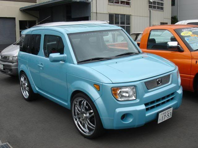 Street Elements, tuner style - Honda Element Owners Club Forum