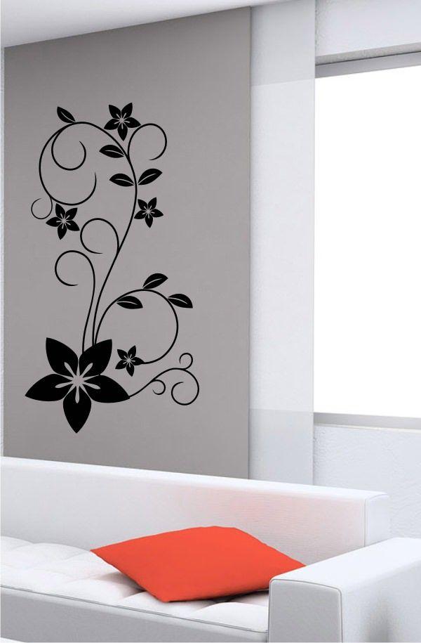 Stickonmania Com Vinyl Wall Decals Plant Design 29 Sticker Wall Painting Living Room Creative Wall Decor Interior Design Wall Decor
