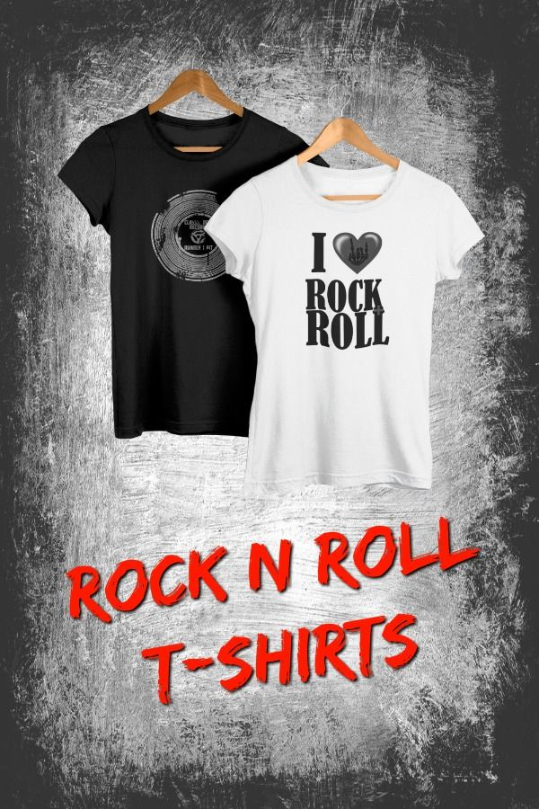 5021b28ec I love rock n roll, classic retro rock shirts #gifts #music #drummers # rocknroll Fun gifts for music lovers and teachers, drummers, guitarists,  singers and ...