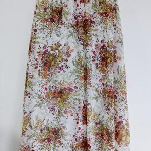 Rok Panjang Bunga Bunga