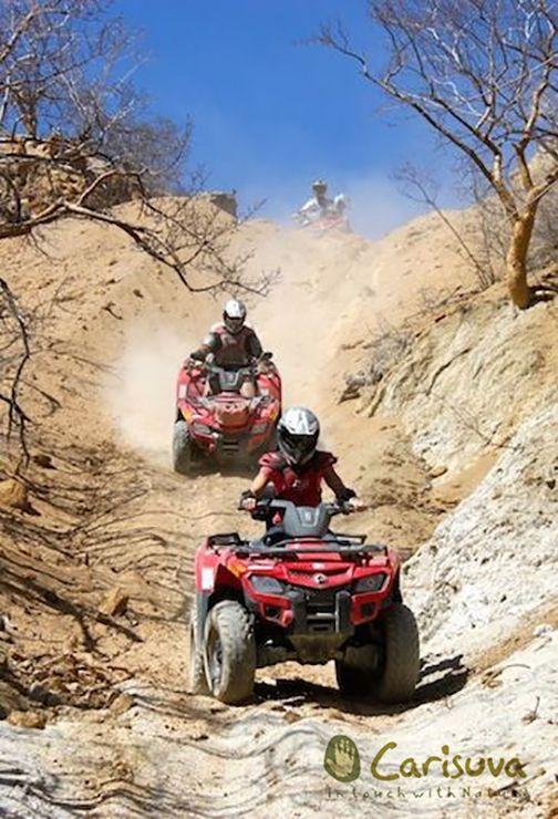 Take a beach and desert ATV tour with Carisuva eco-adventures on your dream vacation to Cabo San Lucas! #LuxLifeVacations