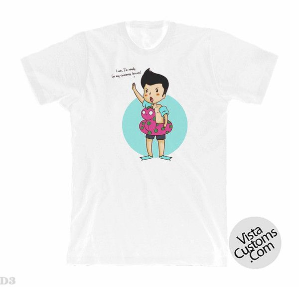 Zayn Maik Cartoon White New Hot T-Shirt