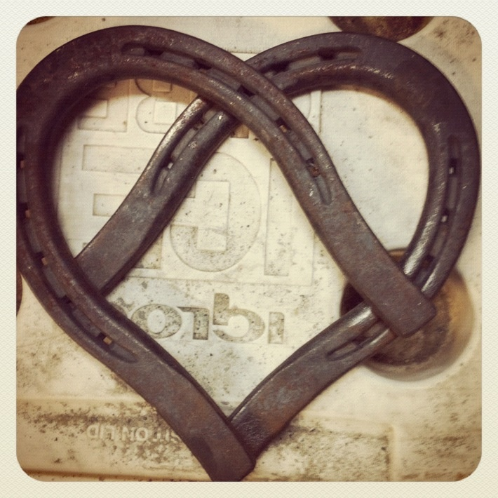 25 best ideas about cross wall collage on pinterest for Horseshoe welding