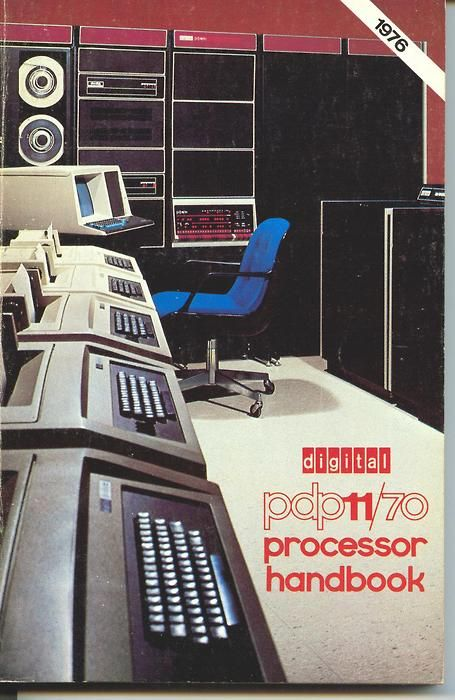 Retro Futurism part 5: PDP-11/70 Processor Handbook