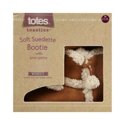 Totes suedette mule in tan- at Debenhams.com
