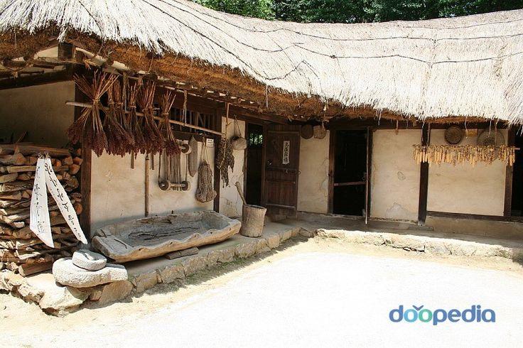 민가(MINGA) - 북부지방민가 / 초가집(CHO-GA HOUSE) KOREAN VERNACULAR ARCHITECTURE FOR COMMON PEOPLE