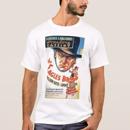 Hopalong Cassidy 1935 vintage movie poster T-shirt - tap to personalize and get yours