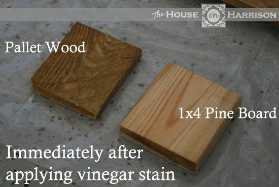 DIY Pallet Wood Gate   House On Harrison