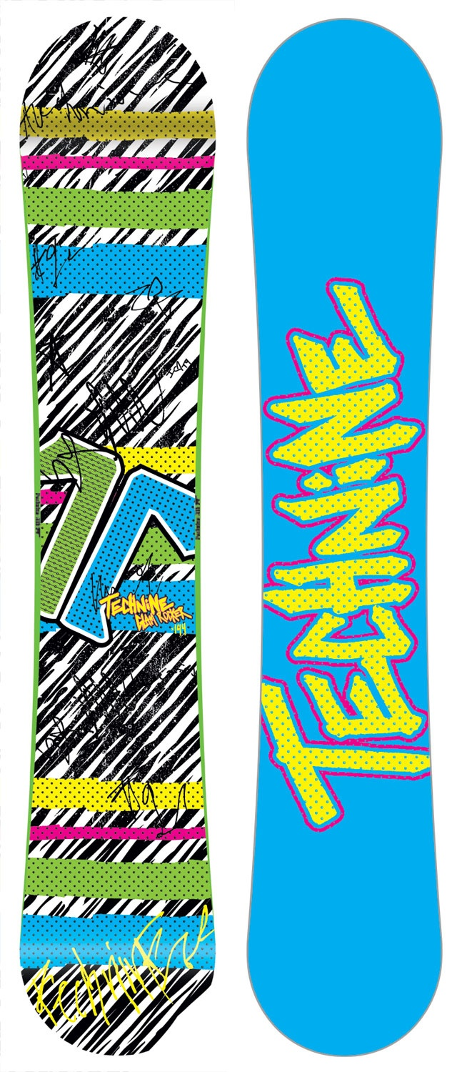 Technine Glam Rocker Snowboard 144