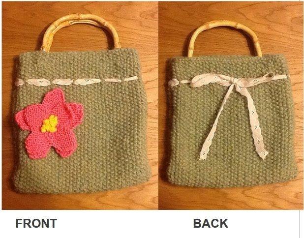 Original design, handbag I knitted