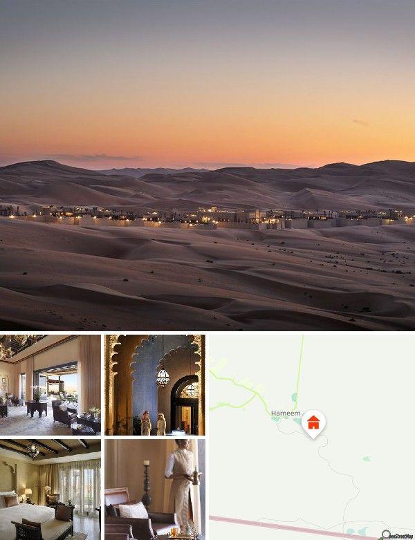 Cet hôtel se trouve dans le légendaire désert de Liwa dans l'Empty Quarter, le plus vaste désert de sable du monde. L'aéroport international d'Abou Dhabi est à 194 km de l'hôtel.