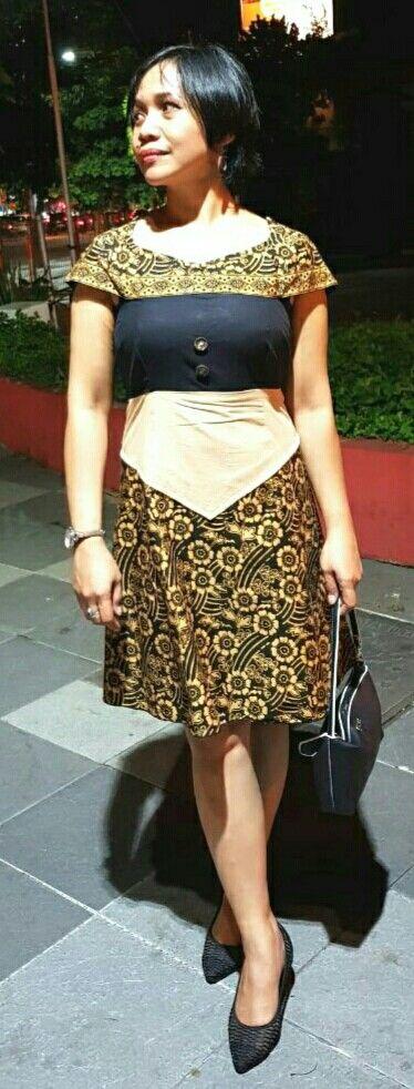 Batik dress #self-made
