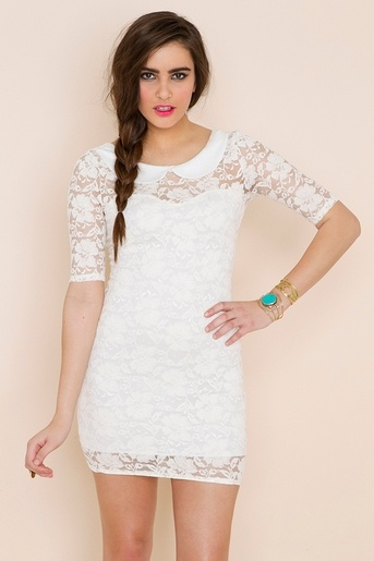 Graduation dress? It has to be white.