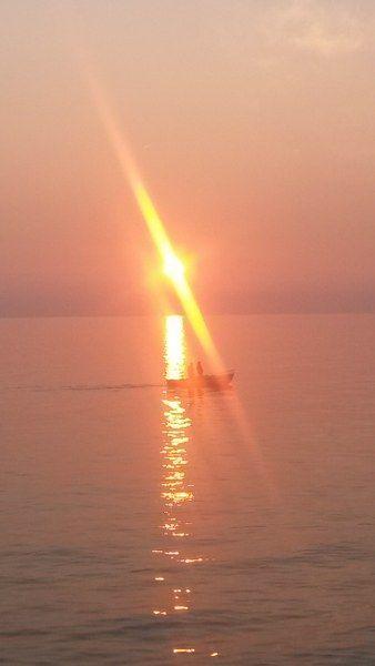 Rapallo al tramonto....