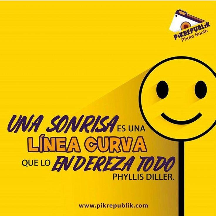 ¿Sabías qué la sonrisa es el gesto que se contagia de manera más rápida en el mundo? ¡Nunca olvides sonreir!  www.pikrepublik.com  #Sonrisa #PikRepublik #Pikabina #Colombia #Fotoexperiencias #Frases #Quotes #Sonrisasinstantáneas #photobooth #smile #photoboothfun #pikusa #pikcolombia #fotocabina #fotocabinacolombia #events