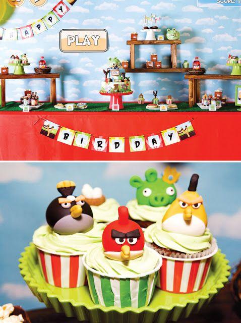 Encontrando Ideias: Tema Angry Birds.
