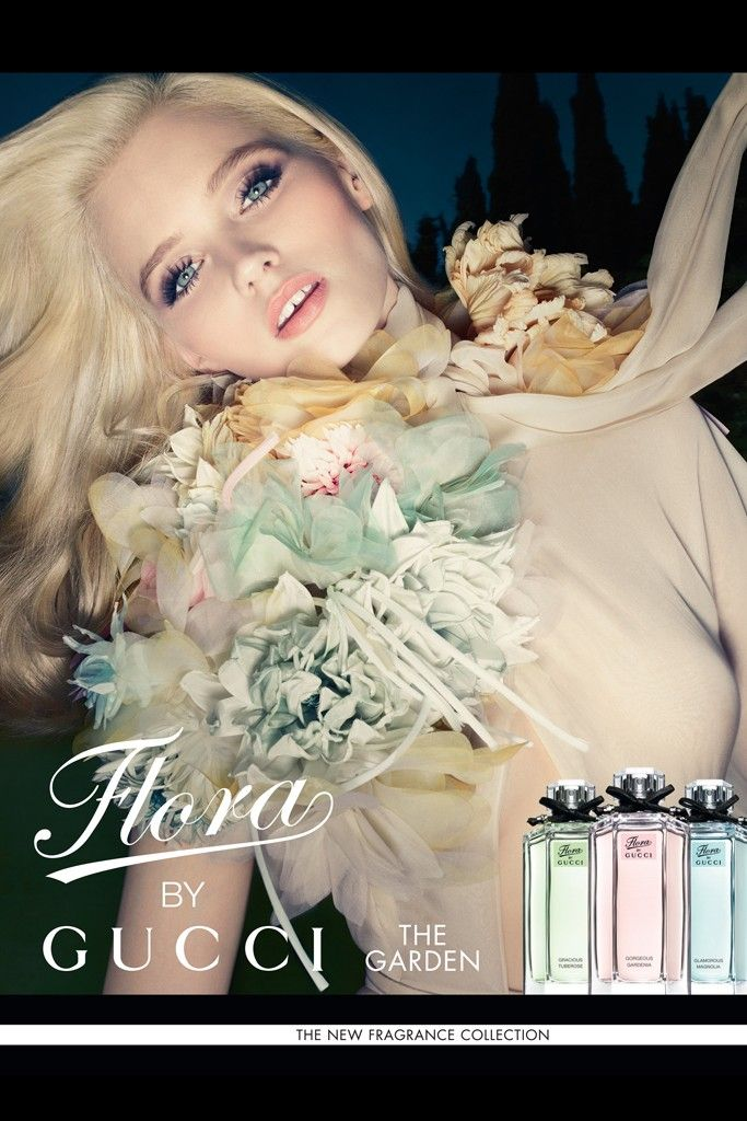 Flora by Gucci Glamorous Magnolia Gucci perfume - a new fragrance for women 2012