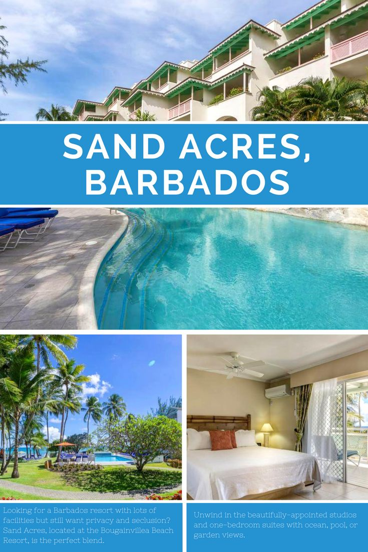 Looking for a Barbados resort with lots of facilities but still want privacy and seclusion? Sand Acres, located at the Bougainvillea Beach Resort, is the perfect blend.