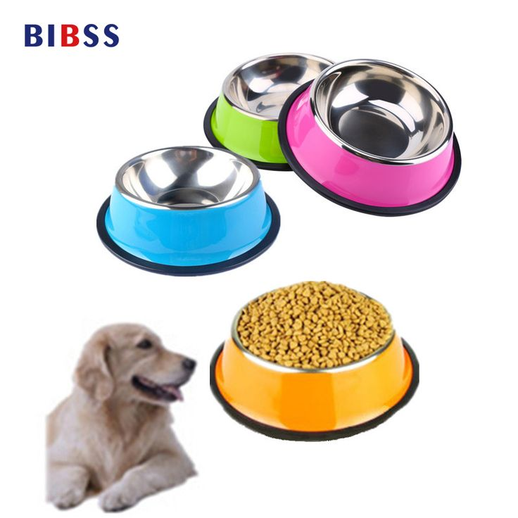 Pets 1:1Lovely 1Pc Stainless Steel Pet Dog bowl feeding bowls for cats or drinking fountain dog  hot sale Goods for pets free shipping * AliExpress Affiliate's Pin.  Find out more by clicking the image