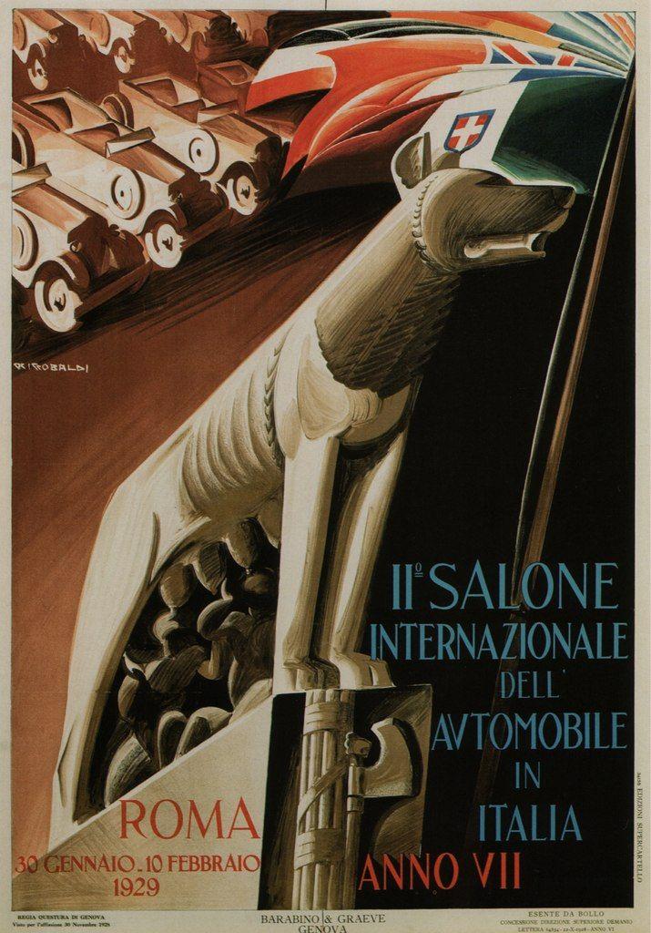 Fascist propaganda poster