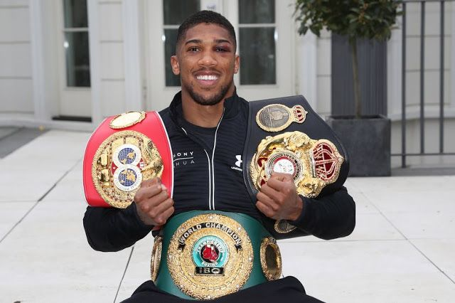 Anthony Joshua To 'Have Stadium And Street Named After Him' In Ogun State
