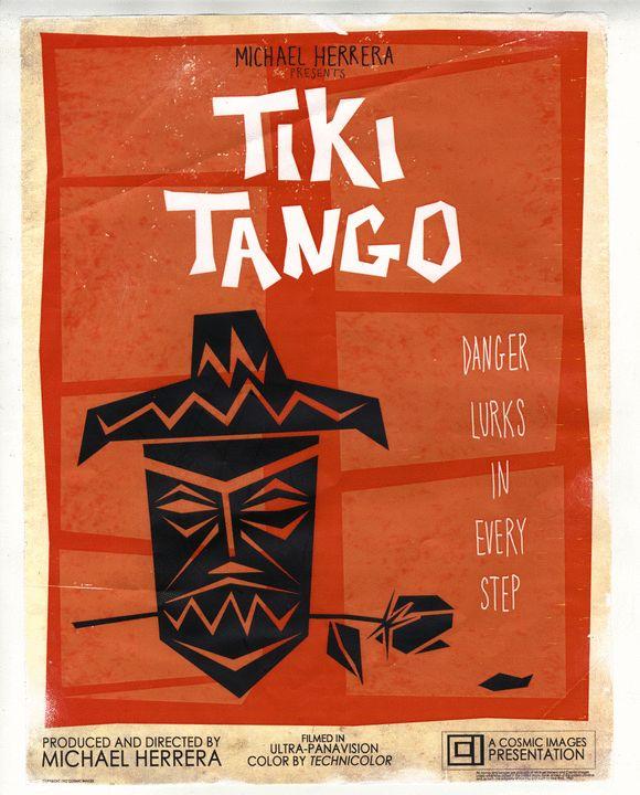 Mondo Tiki Movie Posters