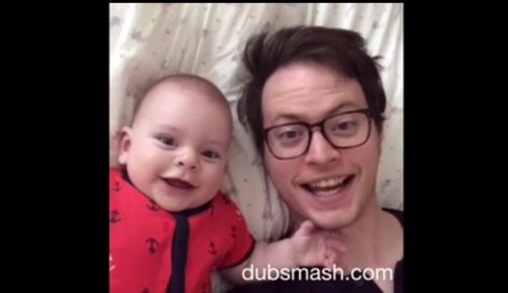 WATCH: Dad Spends A Year With Baby, Funny Videos