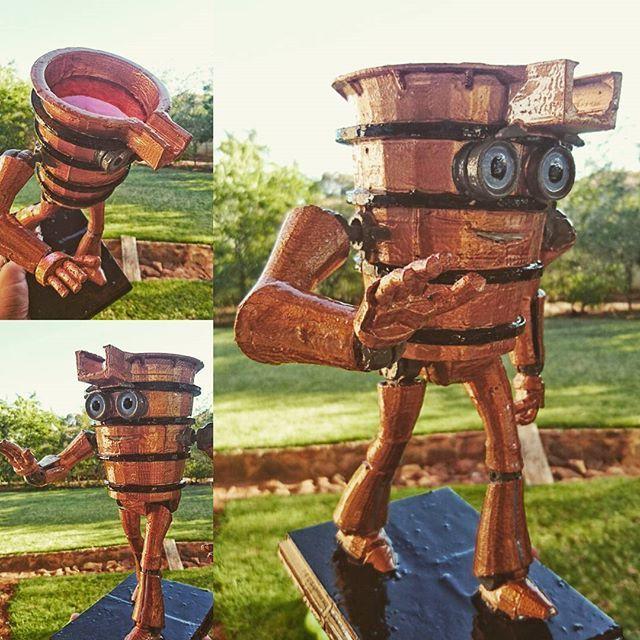 Final 30cm tall 3d printed client mascot. facebook.com/letme3dprintthat