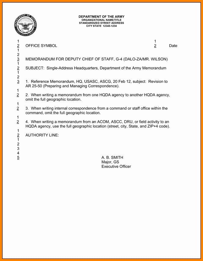 Army Memorandum For Record Template Unique 6 Memorandum For Record Army Memorandum Memo Template Resume Cover Letter Design
