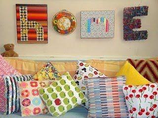 Jeito de Casa: Inspiração para almofadas...