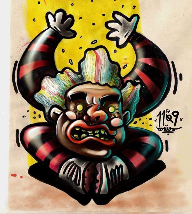 #payaso #ilustracion #art #psico